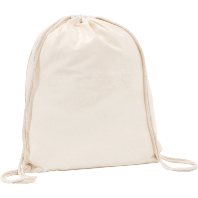 Picture of WESTBROOK 5OZ COTTON DRAWSTRING BAG in Natural