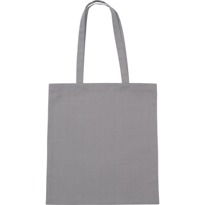 Picture of SANDGATE 7OZ COTTON CANVAS TOTE BAG in Grey