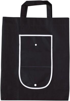 Picture of RAINHAM FOLDING SHOPPER TOTE BAG in Black
