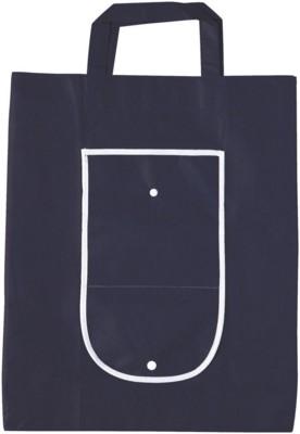 Picture of RAINHAM FOLDING SHOPPER TOTE BAG in Navy Blue