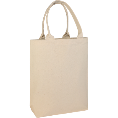 Picture of BUCKLAND10OZ COTTON CANVAS SHOPPER TOTE BAG in Natural