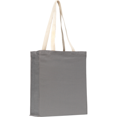 Picture of AYLESHAM 8OZ SHOPPER TOTE BAG in Grey