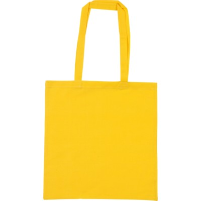 Picture of SNOWDOWN COTTON SHOPPER TOTE BAG in Yellow