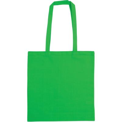 Picture of SNOWDOWN COTTON SHOPPER TOTE BAG in Green