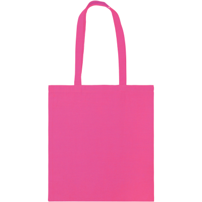 Picture of SNOWDOWN COTTON SHOPPER TOTE BAG in Pink