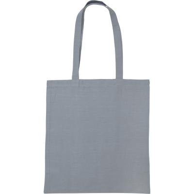 Picture of SNOWDOWN PREMIUM COTTON TOTE BAG in Grey