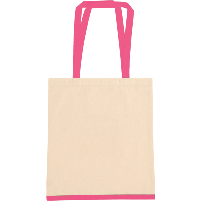Picture of EASTWELL COTTON SHOPPER TOTE BAG
