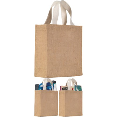 Picture of EGERTON NATURAL JUTE GIFT BAG