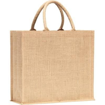 Picture of WHITSTABLE JUTE TOTE BAG in Natural