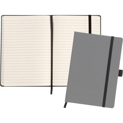 Picture of LARKFIELD A5 SOFT FEEL NOTE BOOK in Grey