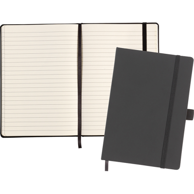 Picture of LARKFIELD A5 SOFT FEEL NOTE BOOK in Black