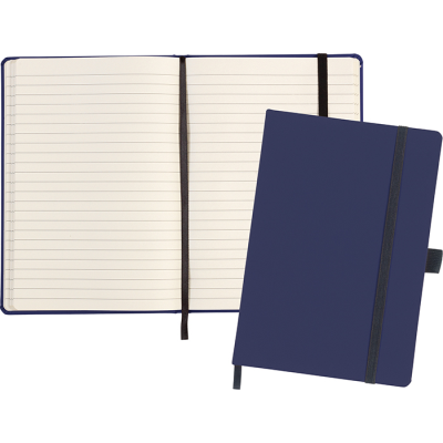 Picture of LARKFIELD A5 SOFT FEEL NOTE BOOK in Navy Blue