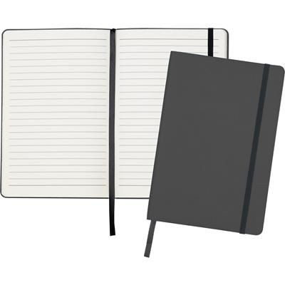 Picture of DITTON A5 FLEXI COVER NOTE BOOK in Black