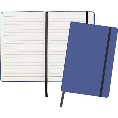 Picture of DITTON A5 FLEXI COVER NOTE BOOK in French Navy