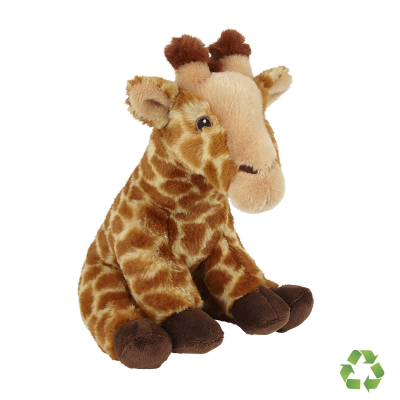 Picture of RECYCLED GIRAFFE SOFT TOY
