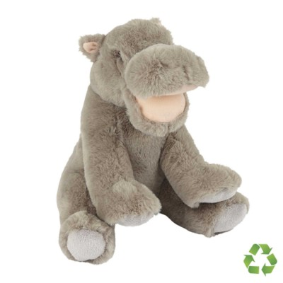 Picture of RECYCLED HIPPO SOFT TOY