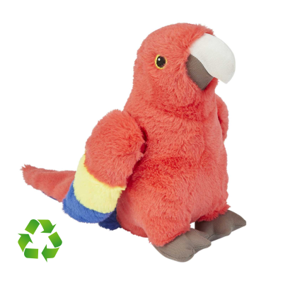 Picture of RECYCLED SCARLET MACAW SOFT TOY