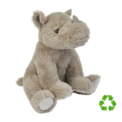 Picture of RECYCLED RHINO SOFT TOY