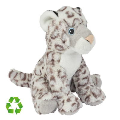 Picture of RECYCLED SNOW LEOPARD SOFT TOY