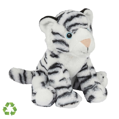 Picture of RECYCLED WHITE TIGER SOFT TOY