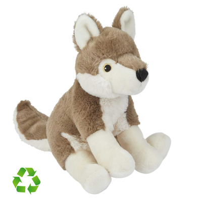 Picture of RECYCLED WOLF SOFT TOY