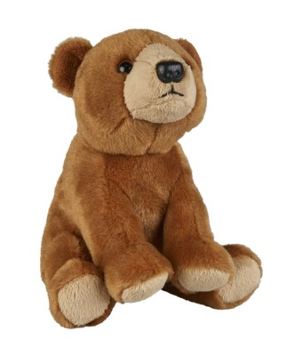Picture of BROWN BEAR SOFT TOY