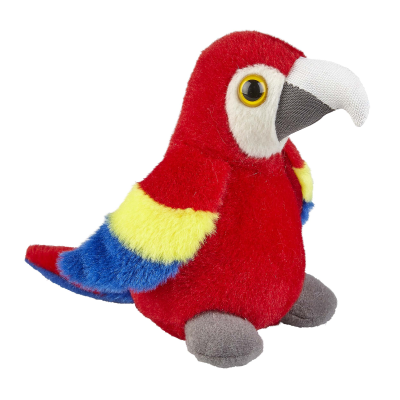 Picture of SCARLET MACAW SOFT TOY