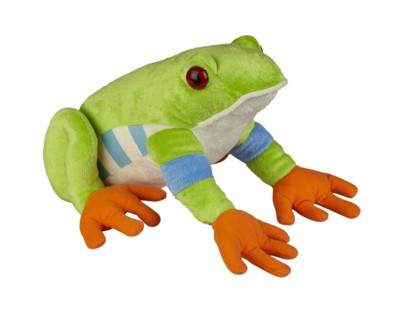 Picture of TREE FROG SOFT TOY