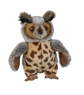 Picture of SOFT TOY EAGLE OWL