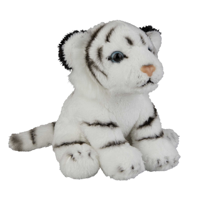Picture of SOFT TOY WHITE TIGER