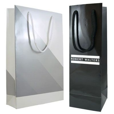 Picture of GLOSS LAMINATED PAPER CARRIER BAG with Pp Rope Handles