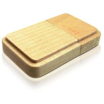 Picture of PANDA 05 USB FLASH DRIVE MEMORY STICK WOOD BODY