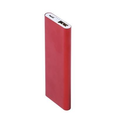 Picture of SUPERSLIM JUPITER POWERBANK in Red