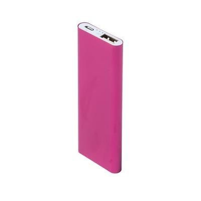 Picture of SUPERSLIM JUPITER POWERBANK in Hot Pink