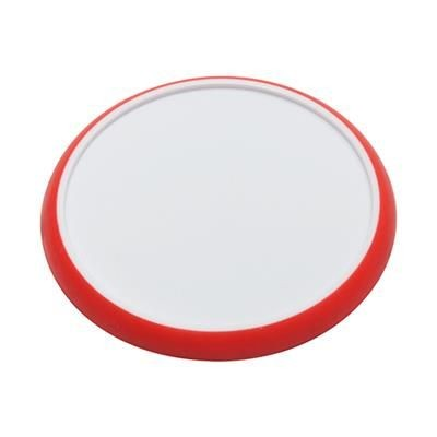 Picture of NON-SLIP COASTER in White-red