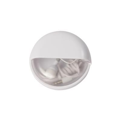 Picture of EARPHONES in Pod in White
