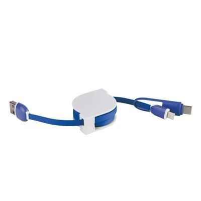 Picture of USB MULTI CHARGER in White-blue