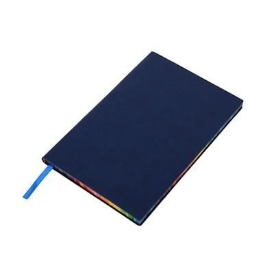 Picture of RAINBOW NOTE BOOK in Blue
