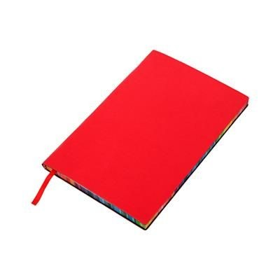 Picture of RAINBOW NOTE BOOK in Red