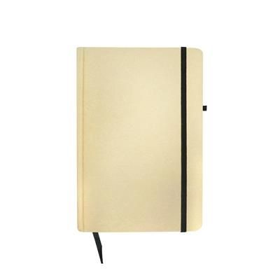 Picture of BORROWDALE NOTE BOOK in Natural-black