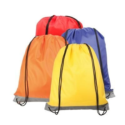 Picture of REFLECTIVE STRIPE DRAWSTRING BAG