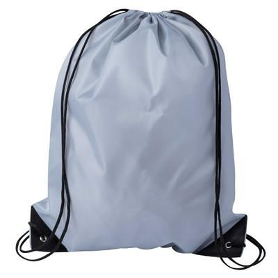 Picture of DRAWSTRING SPORTS BAG in Grey