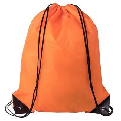 Picture of DRAWSTRING SPORTS BAG in Orange