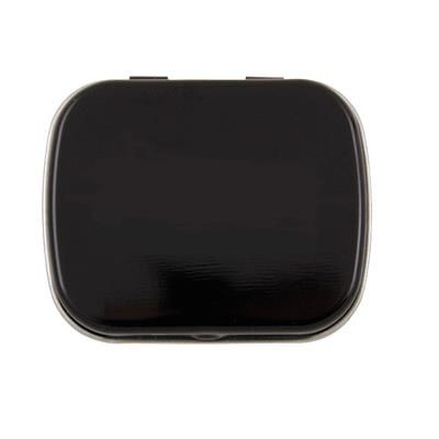 Picture of HINGED TIN OF MINTS in Black