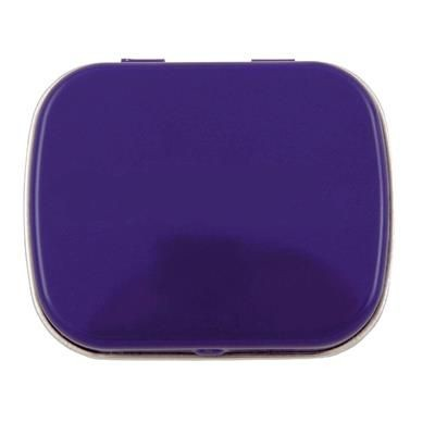 Picture of HINGED TIN OF MINTS in Dark Blue