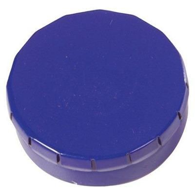 Picture of CLICK TOP MINTS TIN in Dark Blue