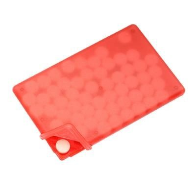 Picture of MINTS CARDS in Frosted Red