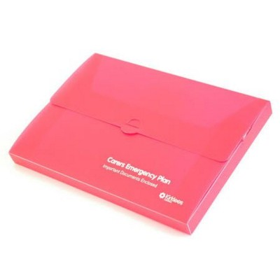 Picture of DOCUMENT WALLET BOX In Polypropylene