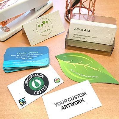 Picture of SEEDS PAPER BUSINESS CARD