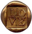 Picture of WAX LETTER SEAL in Gold